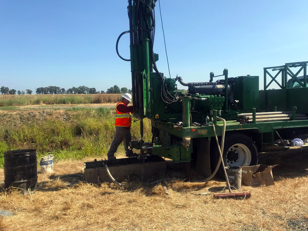 Rotary Wash Drilling
